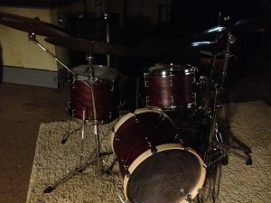 NOLA Custom Drums Perple Heart Kit